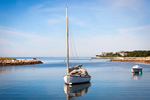 Boat, Pier, Docked, Dock, Water, Sea, Nature, Summer