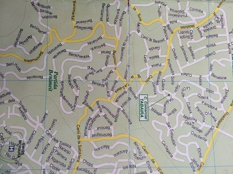 Map, Spain, Directions, Geography, Navigation, Streets