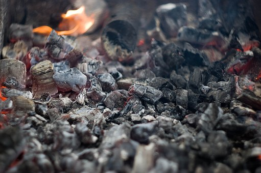 Coals, Koster, Stove, Fever, Fire, Night, Campfire