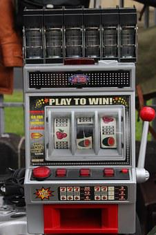 Slot Machine, One Armed Bandit, Play, Money, Gambling
