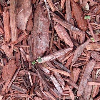 Mulch, Red, Gardening, Ground, Outdoor, Brown, Organic