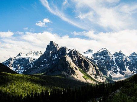 Mountain, Peak, Nature, Outdoor, Scenery, Landscape