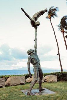 Statue, People, Landmark, Sculpture, Symbol, Stone