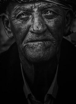 Old Man, Portrait, Person, Male, People, Street