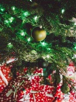 Christmas, Gift, Present, Holiday, Red, Christmas Gift