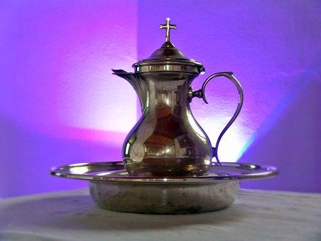 Baptism, Baptism Tableware, Purple