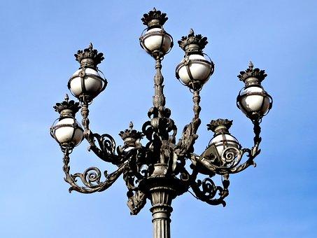 Streetlamp, Vatican, St Peter's Square, Rome, Light