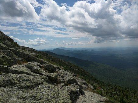 Landscape, Mountain, Nature, Sky, Blue, Forest, Peak