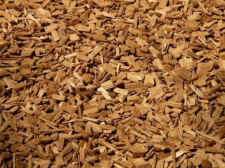 Shredded, Shredder, Wood, Wood Chips, Ground, Soft