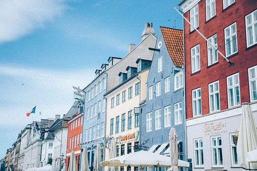 City, Europe, France, Normandy, Denmark, Travel