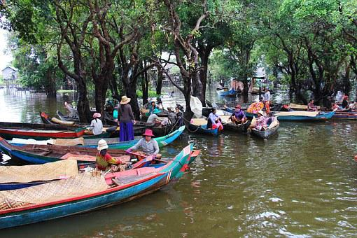 Kompong Phluk Kompong, Tour, Boat People, Village