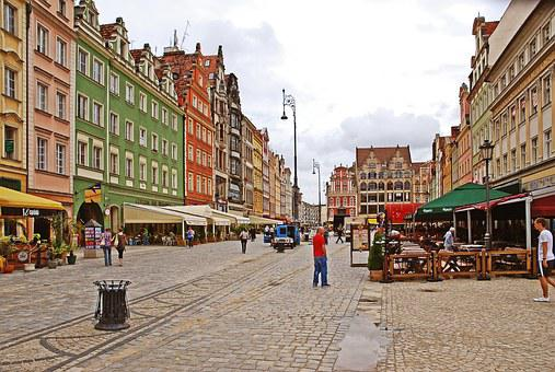 Wroclaw Old Town, Poland, Wrocław, The Centre Of