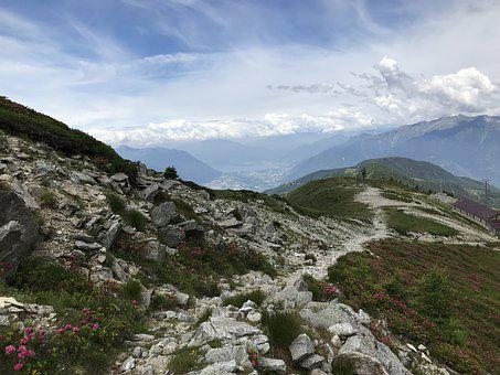 To The Horn Of Gesero, Alpine Route