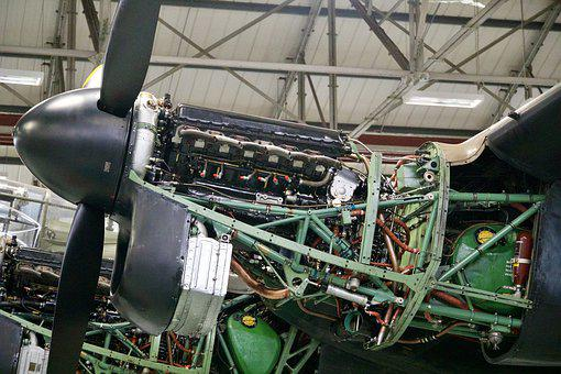 Aviation, Engine, Maintenance, Repair, Aircraft, Motor