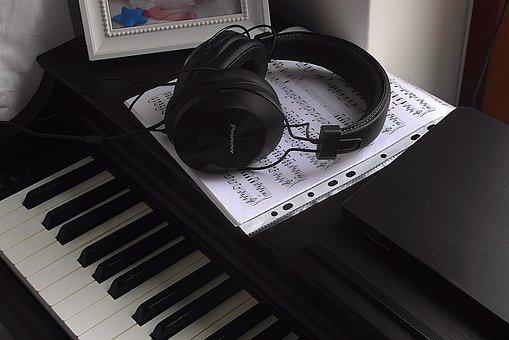 Piano, Keyboard Instrument, Keyboard, Keys, Black