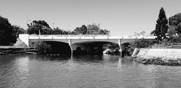 Brisbane, River, Australia, Queensland, Bridge