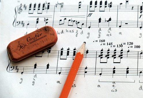 Music, Clef, Notenblatt, Composition, Sheet Music