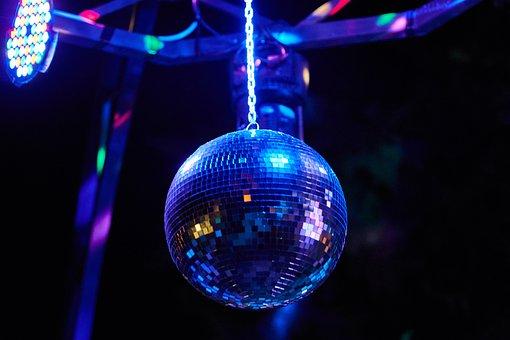 Disco Ball, Ball, Color, Globe, Discotheque, Enjoyable