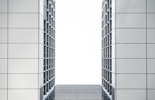 Building, Skyline, Commercial, Modern, Urban, Abstract