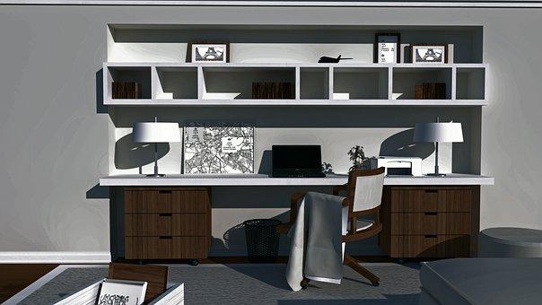 Furniture, Design, Studio, Office, Home, Inside