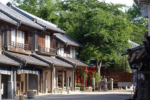 Landscape, History, Era, Edo Period, Save, The Town