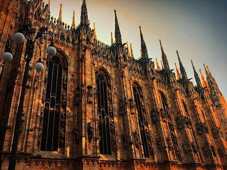 Milan, Europe, Italy, Architecture, Milano, Building