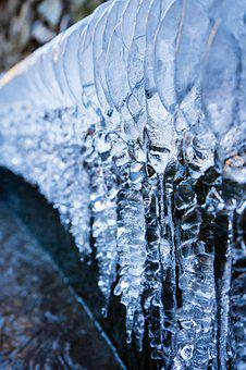 Ice, Icicle, Water, Winter, Frost
