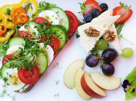 Food, Snack, Bread, Sandwich, Brunch, Fruit, Healthy
