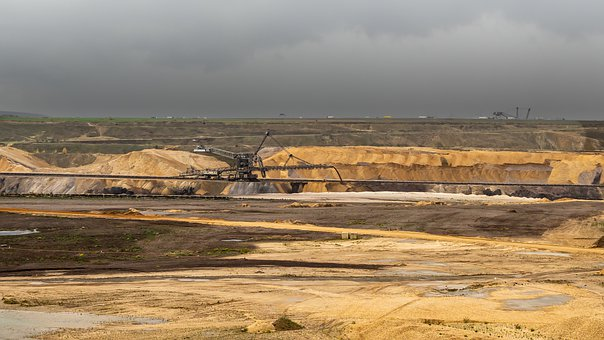 Open Pit Mining, Garzweiler, Bucket Wheel Excavators