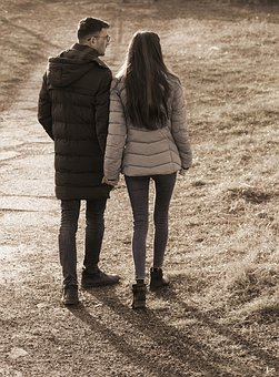 Couple, Young People, People, Girl, Boy