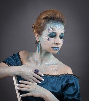 Makeup, Feysart, Aqua Make-up, Hair, Glamour, Body Art