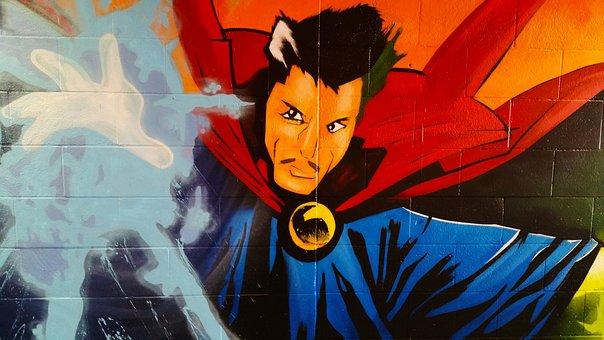 Graffiti, Street Art, Mural, Art, Wall, Facade