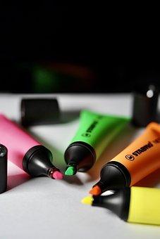 Color, Highlighter, Marker, Highlight