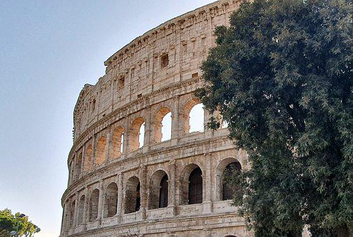 Rome, Colosseum, Antiquity, Architecture, Italy, Arena
