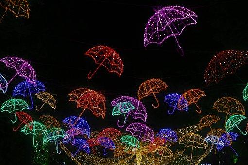 Lighting, Night, City, Lamp, Lantern