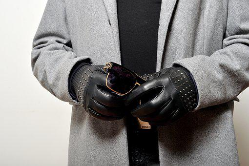 Fashion, Glamour, Gloves, Leather Gloves, Leather, Hand