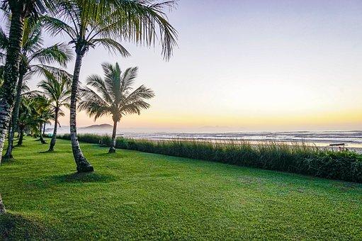 Beach, Dawn, Landscape, Sky, Nature, Mar, Ocean, Summer