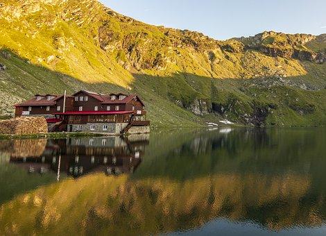 Bâlea Lac, Făgăraș, Lake, Mountains