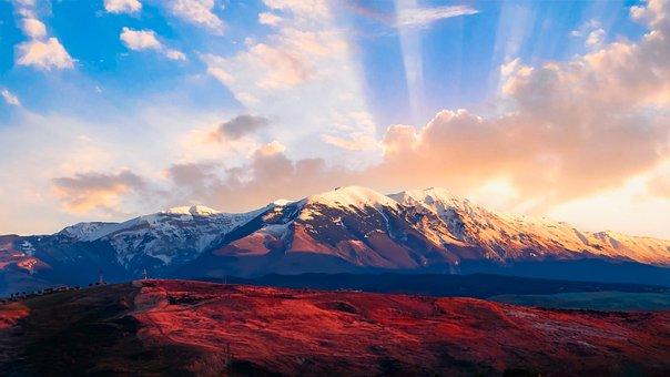 Mountain, Snow, Landscape, Mountains, Nature, Alpine