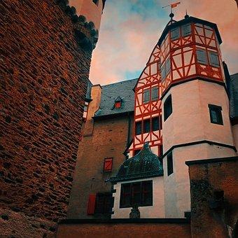 Vianden, View, Old, Building, Castle