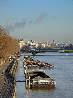 Urban Landscape, Paris, France, River, The Seine
