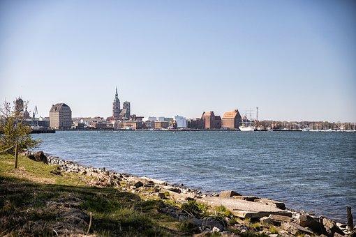 Stralsund, Skyline, Schwemmi, St Mary's Church
