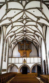 Haslach, Mühlviertel, Church, Vault, Granite, Sew