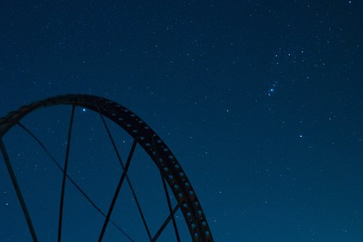 Stars, Field, Space, Night, Star, Sky, Landscape