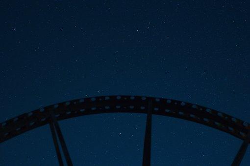 Stars, Field, Night, Space, Star, Sky, Landscape