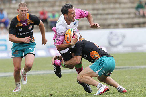 Rugby, Tackle, Sport, Play, Run, Team, Match