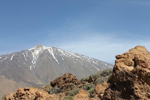 Tenerife, Teide, Volcano, Lava, Rock, Island
