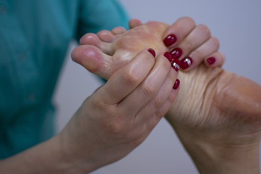 Massage, Hand, Leg, Nails, Spa, Towels