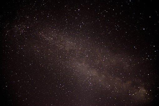 Milky Way, Space, Galaxy, Universe, Sky, Night, Stars