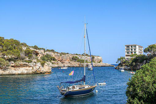 Cala Figuera, Mallorca, Bay, Sea, Vacations, Port